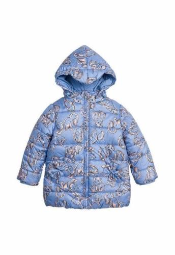 Куртка для девочек, размер 3, весна-осень, голубая Pelican GZWL3003/1