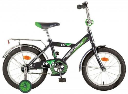 Велосипед Novatrack Twist, черный, рама 16