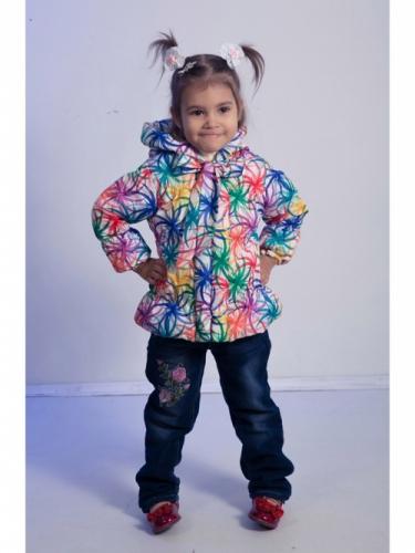 Куртка для девочек, размер 24, весна-осень, желтая Modus L, Каприз