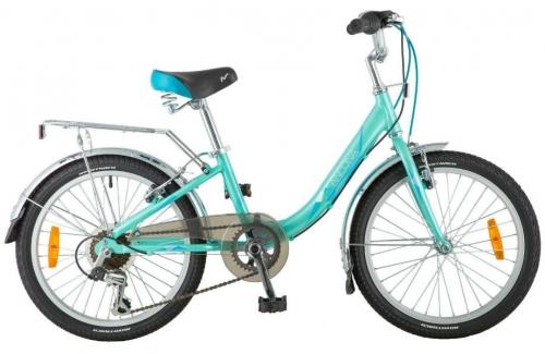 Велосипед Novatrack Ancona, зеленый, рама 20