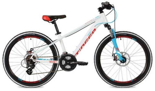 Велосипед Stinger Magnet Std, белый, рама 24