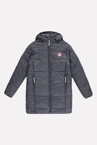 Куртка для девочки Crockid ВК 32073/1 ГР размер 110-116