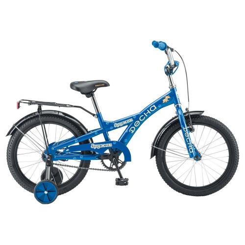 Велосипед Десна Дружок, синий, рама 16