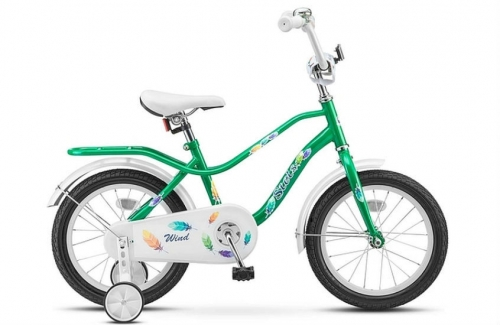 Велосипед Stels Wind, зеленый, рама 14