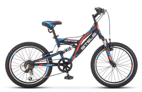 Велосипед Stels Mustang V, черный, рама 20