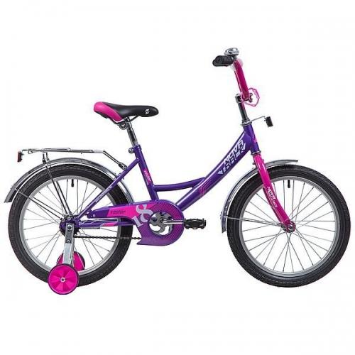 Велосипед Novatrack Vector, лиловый, рама 18