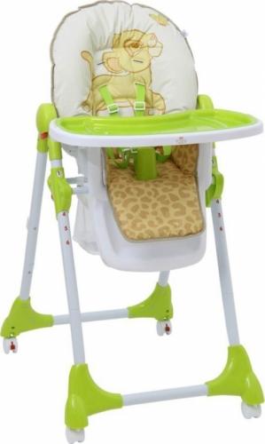 Стульчик для кормления Polini Disney Baby 470 Король лев Зеленый