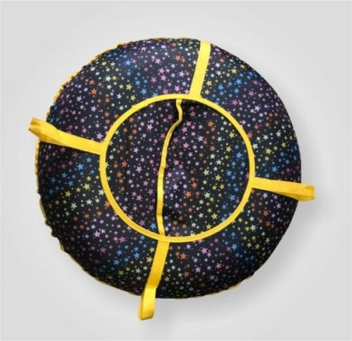 Ватрушка Зима красавица Дизайн (диаметр 75 см)
