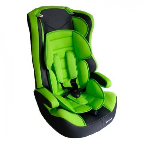 Автокресло Teddy Bear LB 513 RF 1/2/3 28 green/black dot с вкладышем