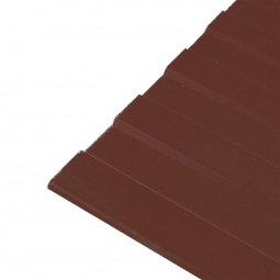 Профнастил С-8 (RAL 8017) шоколад 1200х2000х0.45