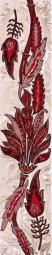 Бордюр Golden Tile Александрия розовый В15351 60х300