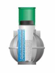 Подземная емкость ЕЗПИ Биофильтр