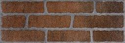 Плитка для стен Сокол Кремль KS-3-3 коричневая полуматовая 12х36.5
