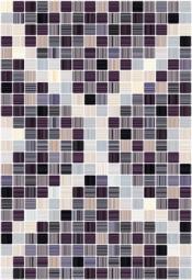 Плитка для стен Керамин Гламур 4 тип 1 Сиреневый 40x27,5