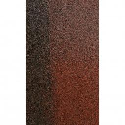 Коньково-карнизная черепица Shinglas Кадриль-соната, Агат коричневый, 1000х250мм