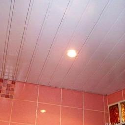 Рейка S-профиль нежно-розовый-В37, 100*4000