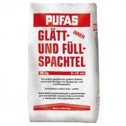 Шпатлевка Pufas №3 Glatt- und Fullspachtel для выравнивания неровностей 25 кг