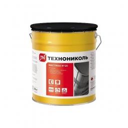 Мастика битумно-резиновая Технониколь №20 ведро 20 кг