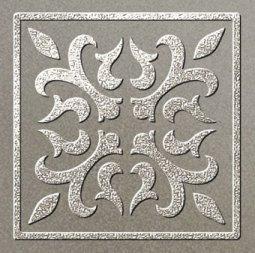 Декор Freelite Универсальные вставки для пола Палермо Серый серебро 6x6