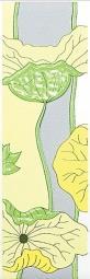 Бордюр Kerama Marazzi Городские цветы A41\7071 20х6,3