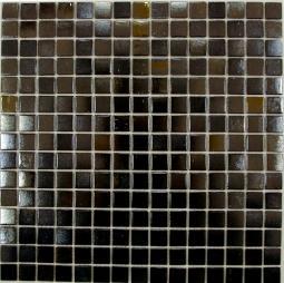 Мозаика Bonаparte Black Light коричневая глянцевая 32.7х32.7