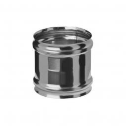 Адаптер нержавеющий Ferrum ММ 430/0.8 мм ф130 для печи