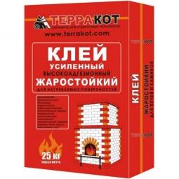 Клей Терракот усиленный жаростойкий 10 кг