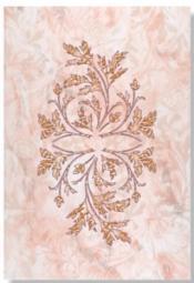 Декор Керамин Атланта 1Н Розовый 40x27,5