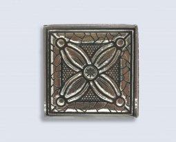 Декор Орнамент Универсальные вставки для пола Касабланка Platinum 1 6.7x6.7