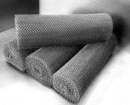 Сетка рабица d=3,0 мм, ячейка 30x30 мм, 1500x1000 мм, оцинкованная