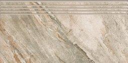 Ступени Kerranova Genesis полированный серый 29.4x60