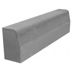 Камень бордюрный Вибропрессованный 1000х300х180 Серый