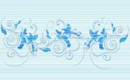 Декор Нефрит-керамика Стрит 04-01-1-09-03-61-071-0 40x25 Голубой