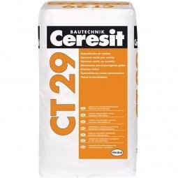 Штукатурка и ремонтная шпаклевка Ceresit СТ29 цементная 25 кг