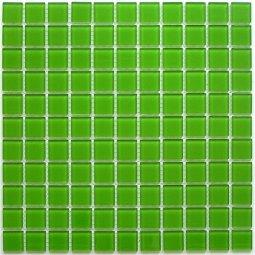 Мозаика Bonаparte Green glass зеленая глянцевая 30x30