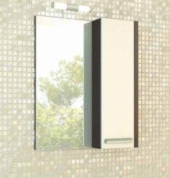 Шкаф-зеркало Comforty Барселона 60 Венге
