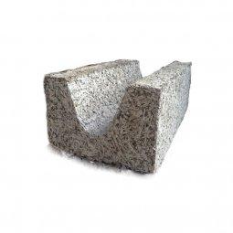 Арболитовый Блок 500х300х200 мм D600 U-образный