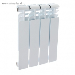 Радиатор биметаллический Oasis 008 500/80 4 секции 0.512 кВт