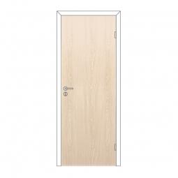 Дверное полотно Olovi глухое Беленый Дуб 800х2000 с замком 2014