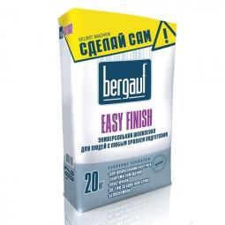 Шпатлевка Bergauf Yesy Finish финишная универсальная 20 кг