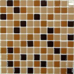 Мозаика Bonаparte Coffee Mix бежевая глянцевая 30x30
