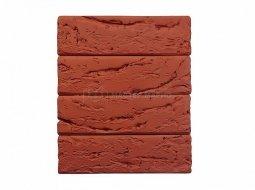 Кирпич лицевой керамический Красный «Кора дерева» пустотелый Евро одинарный