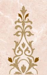 Декор Нефрит-керамика Грато 04-01-1-09-03-23-420-2 40x25 Розовый