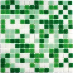 Мозаика Bonаparte Grass зеленая глянцевая 32.7x32.7