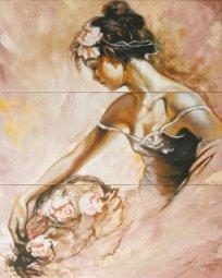Панно Cracia Ceramica Arabeski Venge Panno 01 60x75