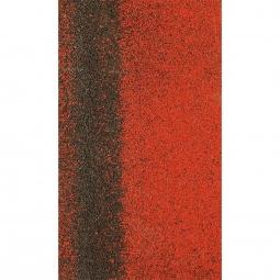Коньково-карнизная черепица Shinglas Кадриль-соната, красный