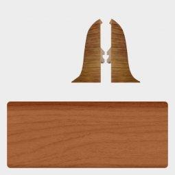 Заглушка торцевая левая и правая (блистер 2 шт.) Т-пласт 047 Вишня Натуральная