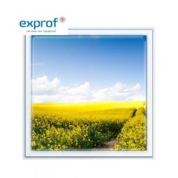 Окно ПВХ Exprof 600х600 мм одностворчатое Г 2 стеклопакет