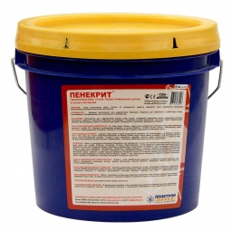 Гидроизоляция Пенетрон Пенекрит проникающая для стыков и трещин 5кг