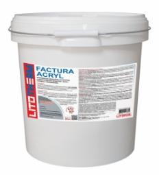 Штукатурка Litokol Litotherm Factura Acryl  Шуба декоративная акриловая 1,5 мм Белая